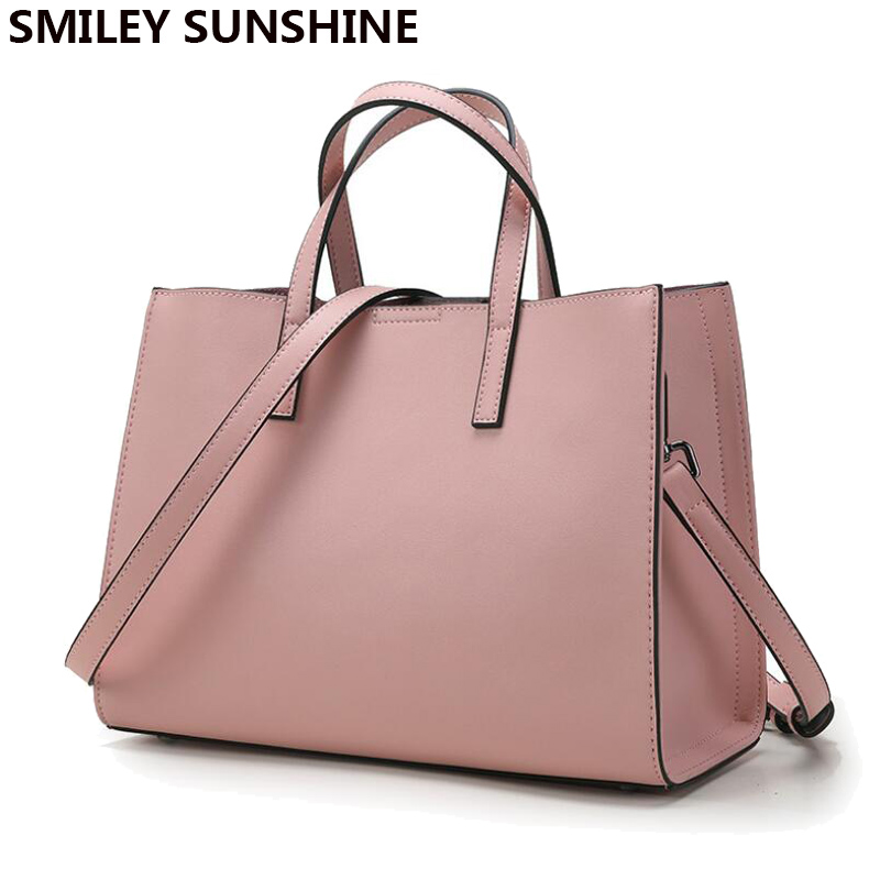 big handbags smiley sunshine brand genuine leather women bags designer handbags high  quality brand female shoulder RDLWQQH