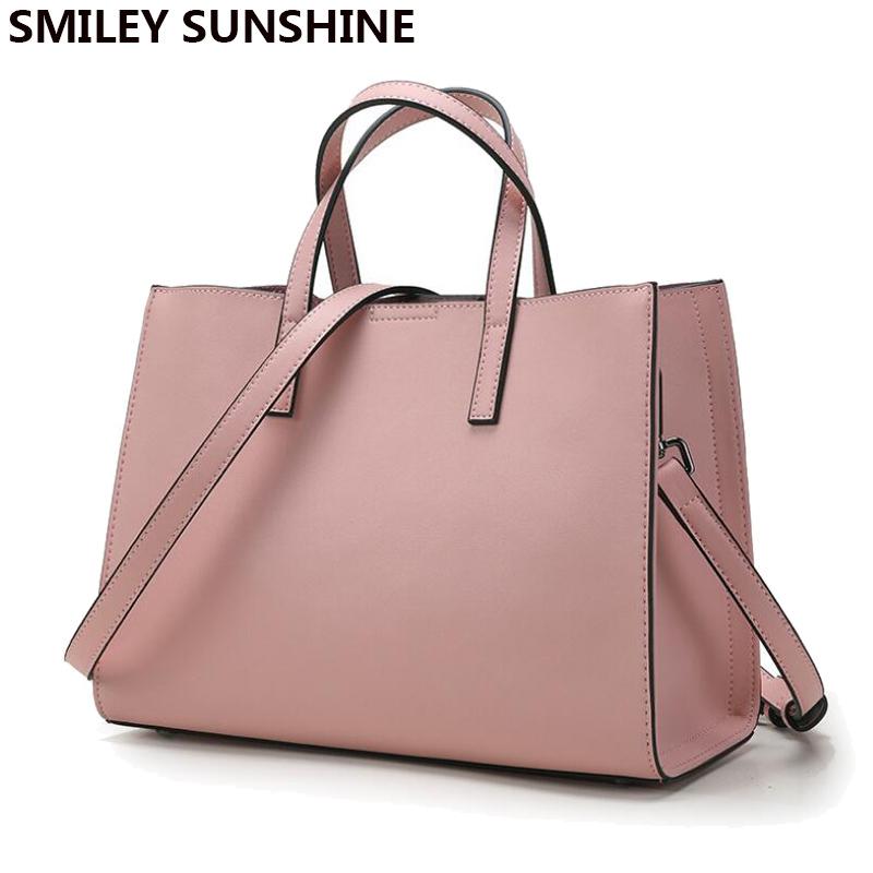 big handbags smiley sunshine brand genuine leather women bags designer handbags high  quality brand female shoulder RDLWQQH