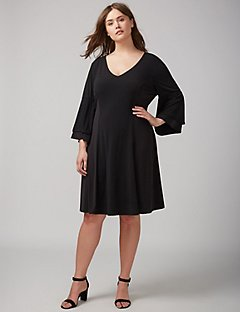 black dress plus size shop plus size dresses - sizes 14-28 | lane bryant LXLZFEV