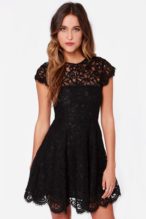 black lace dress 1 HBFQGXJ