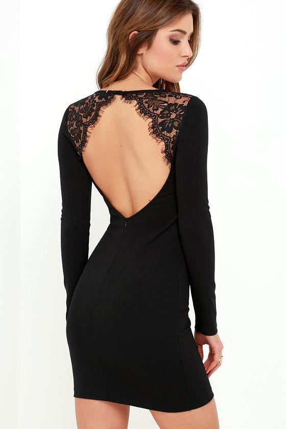 black lace dress tallest tower black lace bodycon dress 1 DXVWQLM