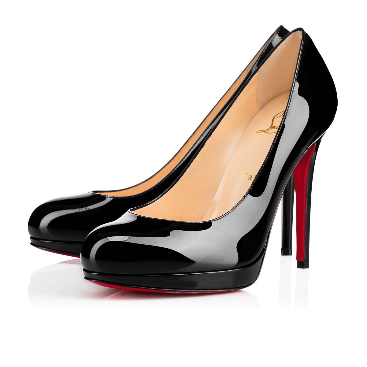 black pumps shoes - new simple pump - christian louboutin ... KSLZXYS