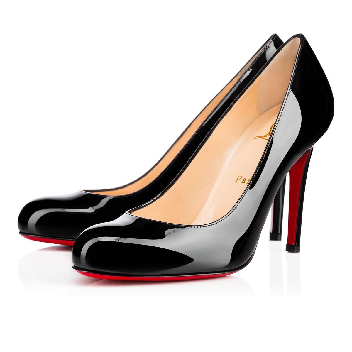 black pumps shoes - simple pump - christian louboutin ... LXRTSAG
