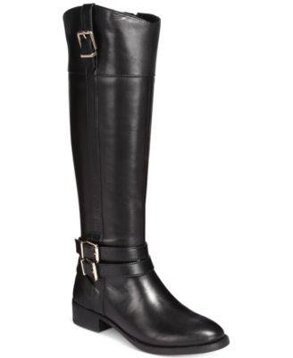 black riding boots inc international concepts frankii riding boots, created for macyu0027s EEOIQZP