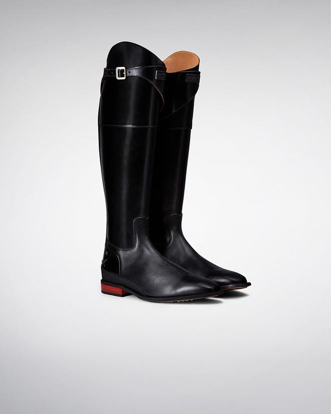 black riding boots menu0027s wellesley riding boots WZLYOHN