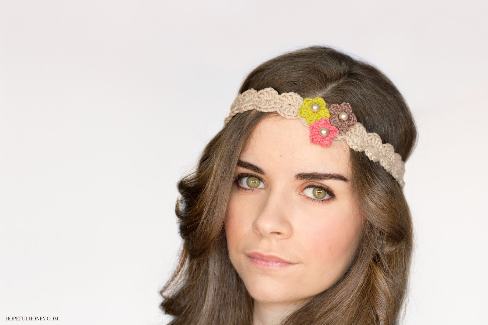 bloomswirl headband crochet pattern HJXZUHS