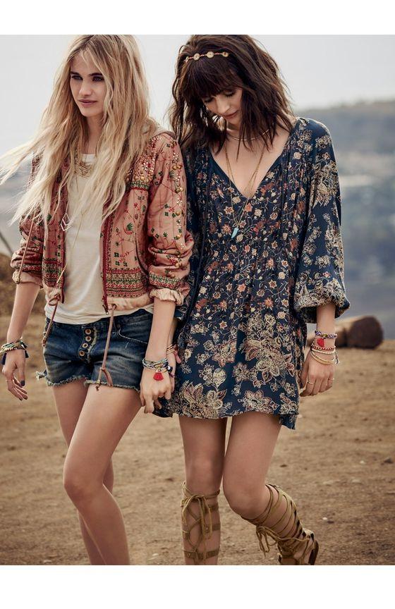 boho style how to wear bohemian style - boho chic fashion OUFHSON