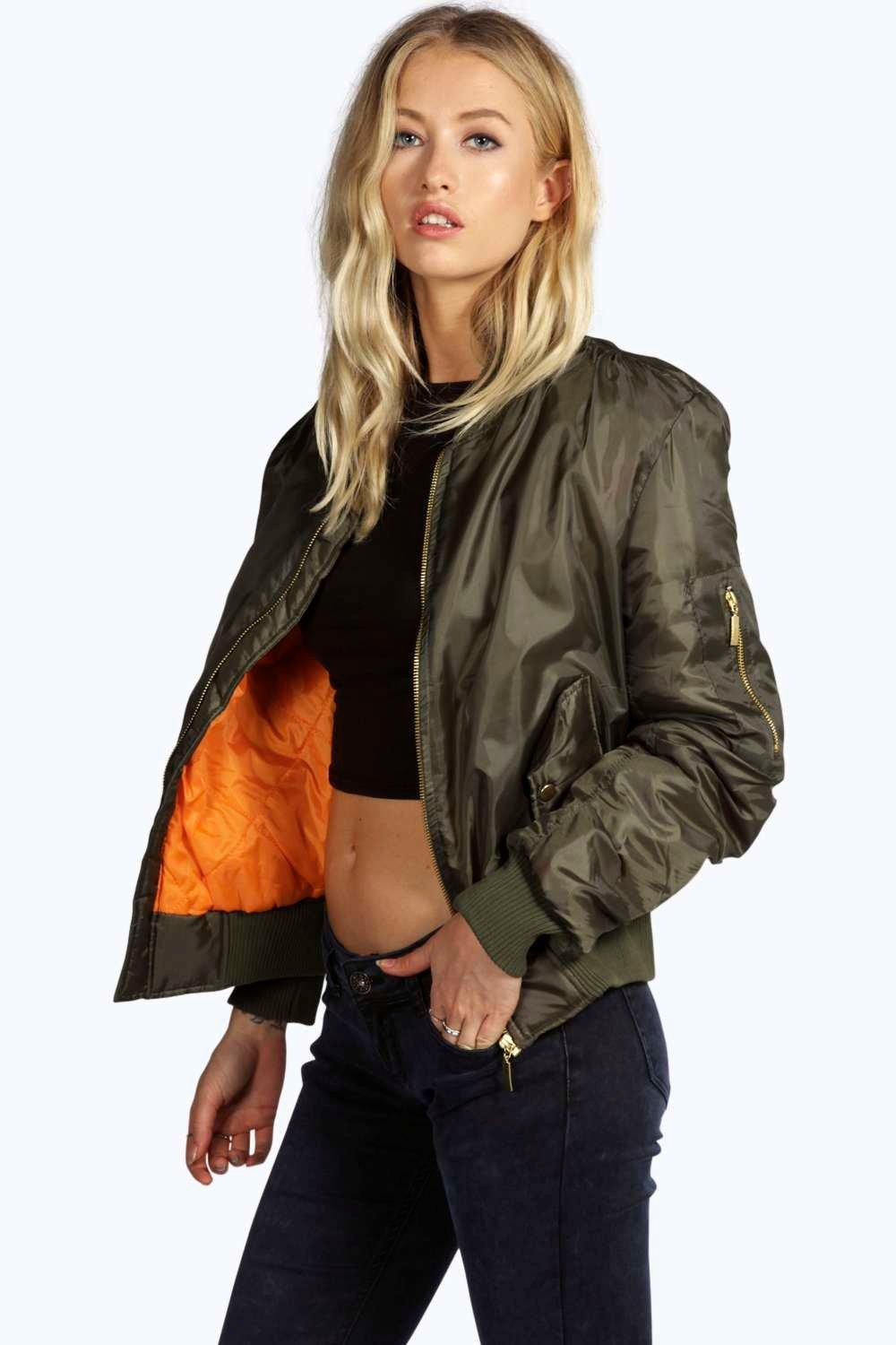 Women's love for the bomber jackets