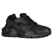 boys nike shoes nike huarache run - boysu0027 grade school - all black / black ESLEGWS