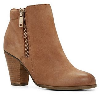 brown ankle boots cute shoes IMTPFRV