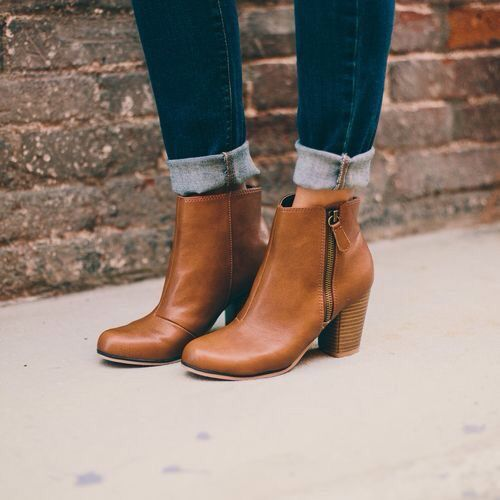 brown ankle boots the most wearable boot for this or any season. these essential leatherette ankle  boots. FRNGOFY