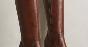 brown boots frye parker tall boots ZMKWZUG