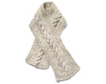 cable knit scarf cable scarf pattern (knit) AMQNJKH