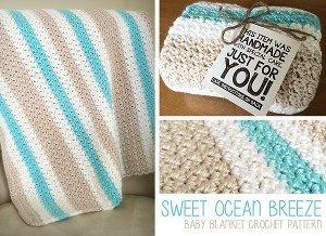 calming crochet baby blanket TUSROPN