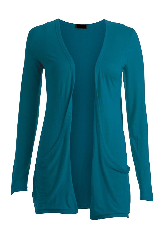 cardigans for women ladies women boyfriend open cardigan with pockets long sleeve all sizes at  amazon womenu0027s VCNUFAA