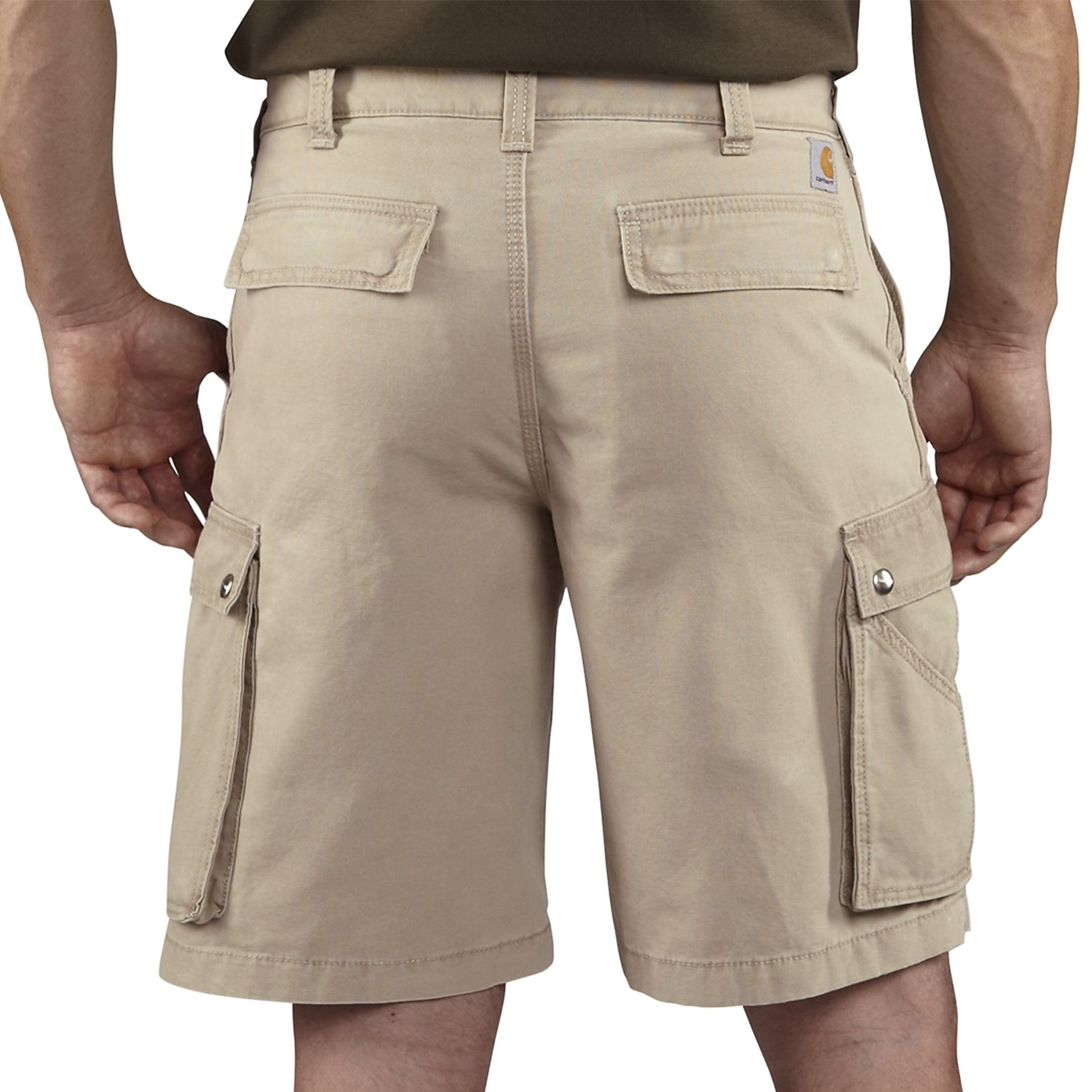 Quick dry summer cargo shorts for men