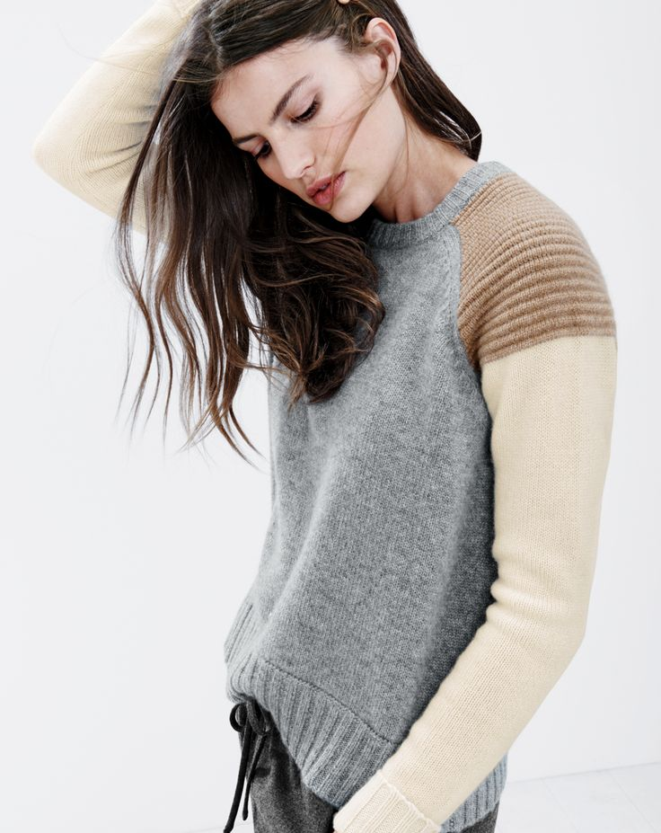 cashmere sweaters crew cashmere colorblock sweater i thought you might enjoy thisu2026 VWMFYIL