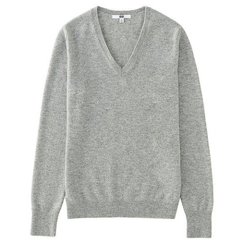 cashmere sweaters uniqlo cashmere v-neck sweater SVDOIXU