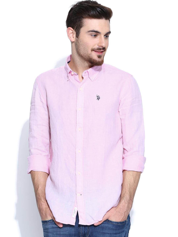 casual pink shirt for men men light pink shirt - buy men light pink shirt online in india UFWOCTV