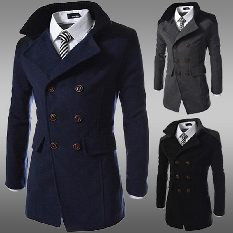 cheap men jacket coat slim fit men casual trench coat mens winter coats mens GXRRKGM