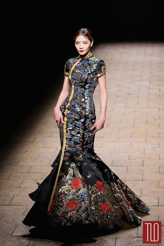 chinese fashion meeshay: u201c global-fashions: u201c zhang zhifeng - 2015 ne-tiger haute couture,  mercedes-benz china fashion SKTCKLX