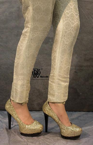 cigarette pants silver WQTDKVC