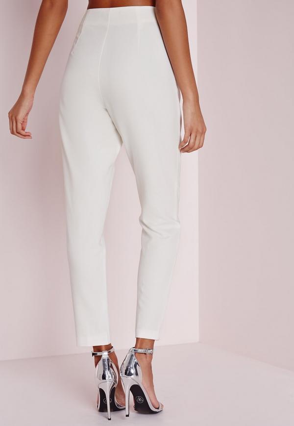 cigarette pants twin white. $48.00. previous next HYSOLOB