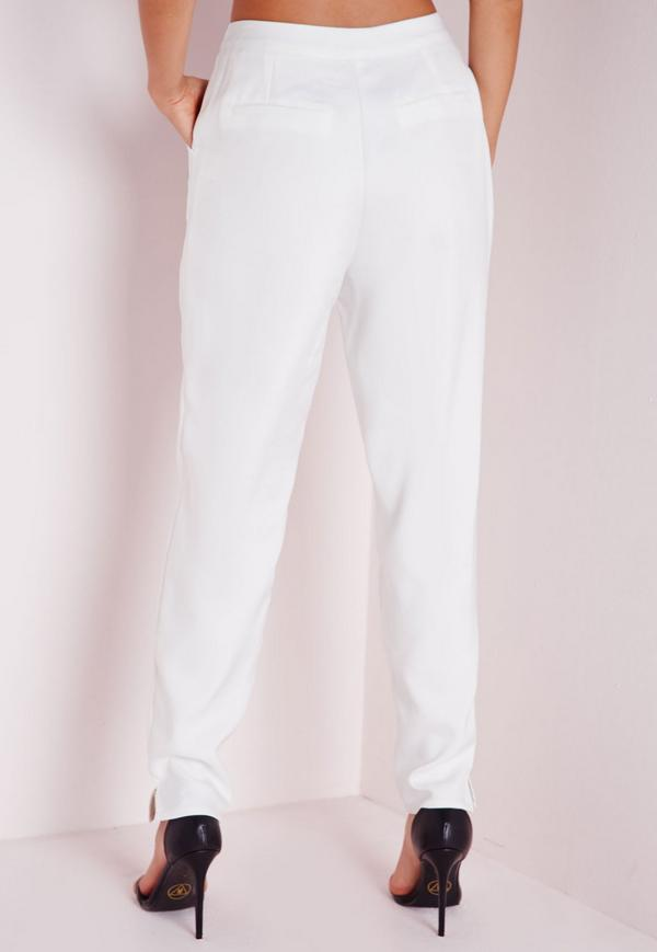cigarette pants white UALZDCT