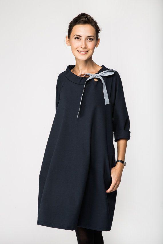 classic dresses classic dress | french dress | deep blue dress | lemuse classic dress EOVRWPX