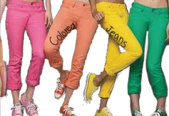 colored jeans color is taking over spring with a vengeance this year as different colored  jeans CLHBUVA