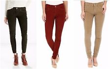 colored jeans new leviu0027s womens 710 mid rise super skinny corduroy stretch jeans sizes  24-34 IJLSHJE