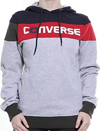 Converse Hoodie converse hoodie - red stripe, size xl: amazon.co.uk: clothing ZEPTPXW