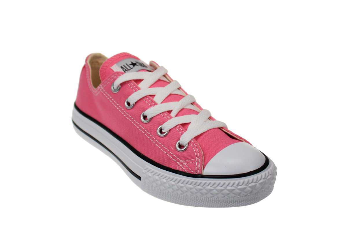 converse shoes for kids converse all star junior kids classic pink trainers sneakers shoes size 12  - 2 EOLCKTE