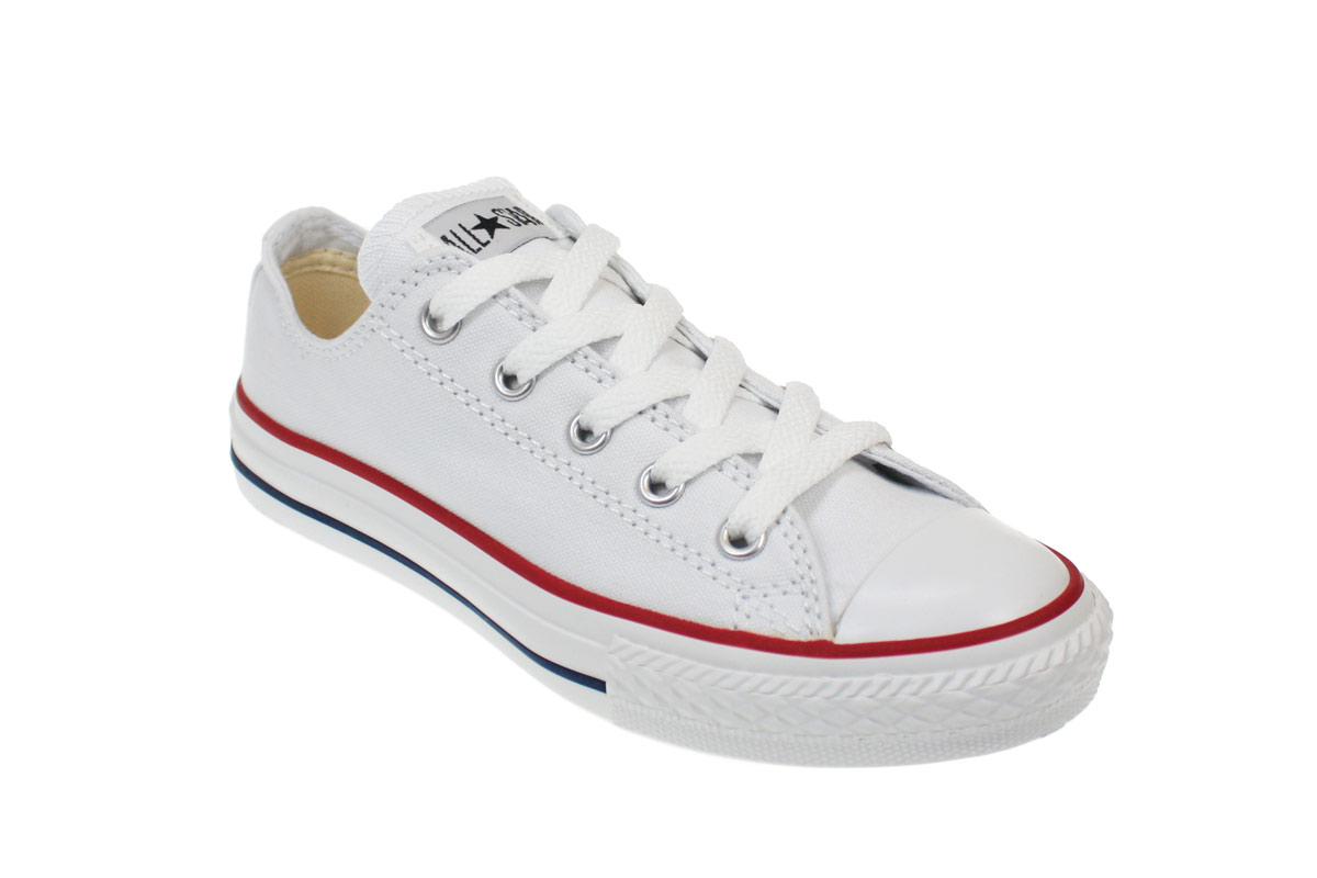converse shoes for kids image is loading converse-youth-junior-kids-white-canvas-trainers-sneakers- FJJRYHV