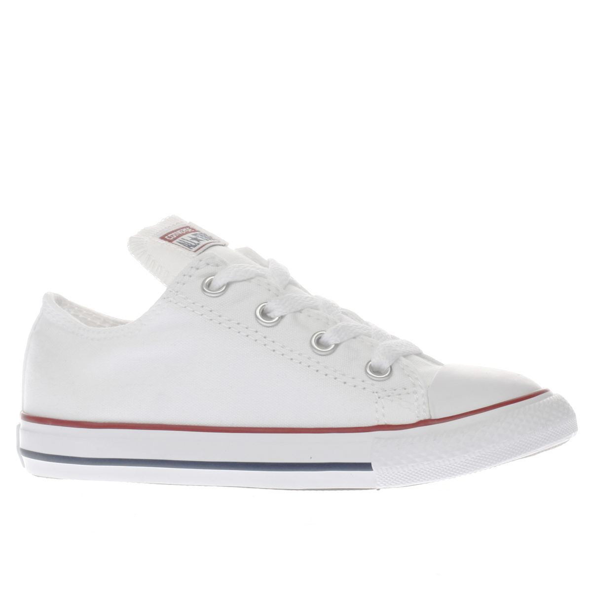converse trainers converse white all star lo unisex toddler VOVFBYQ