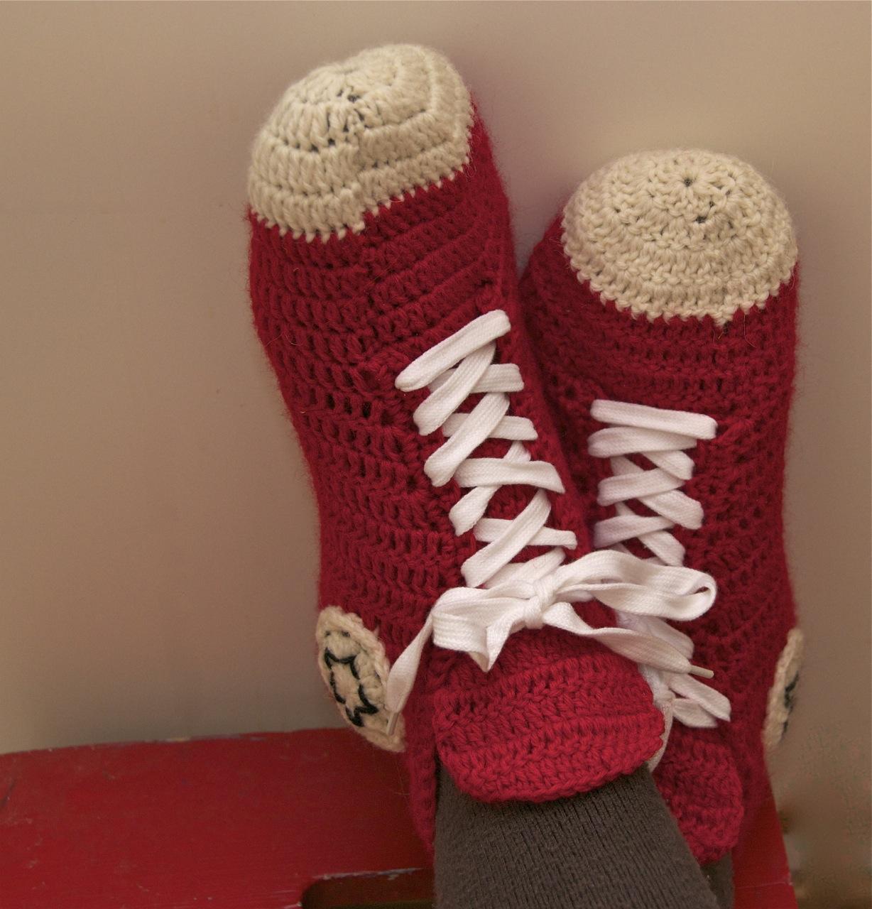 cool crochet patterns coolest crochet slippers patterns for boys ..sneakers! DWKNLDZ