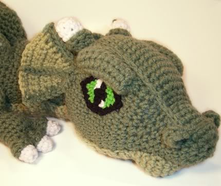 cool crochet patterns cosmo the crochet dragon...iu0027m never going to make this but RNYQACG
