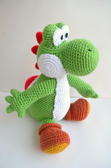cool crochet patterns funky diy crochet patterns on etsy: yoshi doll at amiamour BTCZLGC