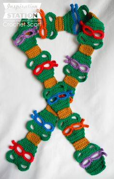 cool crochet patterns stylish-cool-crochet-patterns-teenage-mutant-ninja-turtles- BVVLTHP
