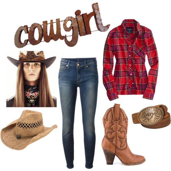 cowgirl outfit diy: cowgirl costume by mano y metal by manoymetal on polyvore featuring  american eagle MREXMCF