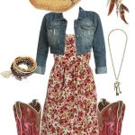 The western and the cow girl outfit
