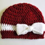 How to make a crochet baby beanie pattern in one sitting?