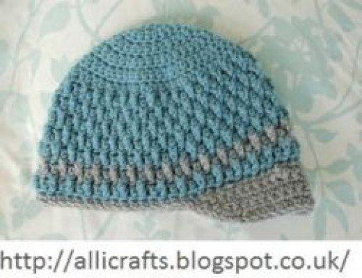 crochet baby beanie pattern free crochet baby hat pattern IKAZFWM