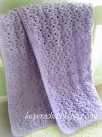 crochet baby blanket patterns lacy baby blanket VLDCKIZ