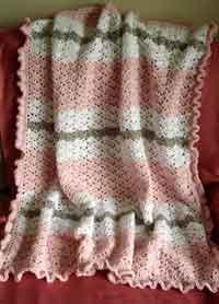 crochet baby blanket patterns rippled security blanket crochet pattern. snapdragon stitch baby blanket UXAYKJZ