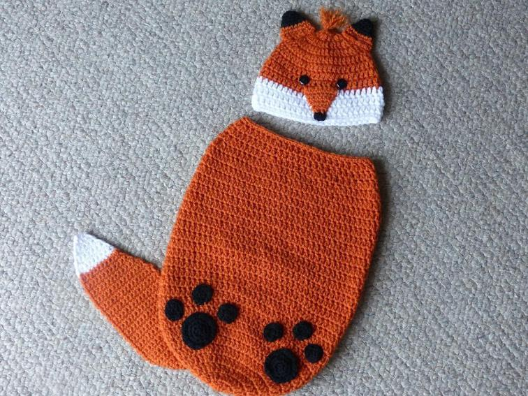 crochet baby cocoon finley the fox baby cocoon crochet pattern YWEUGYL