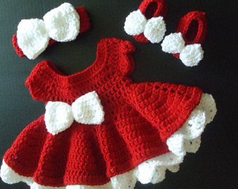 crochet baby dress | etsy EWIPELW