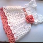 Handmade crochet baby dress pattern for your baby