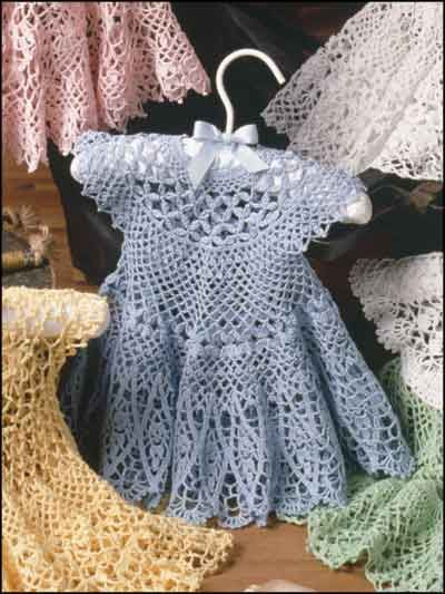 crochet baby dress pattern crochet - children u0026 baby patterns - dress patterns - blue bliss baby dress FCLCCYK