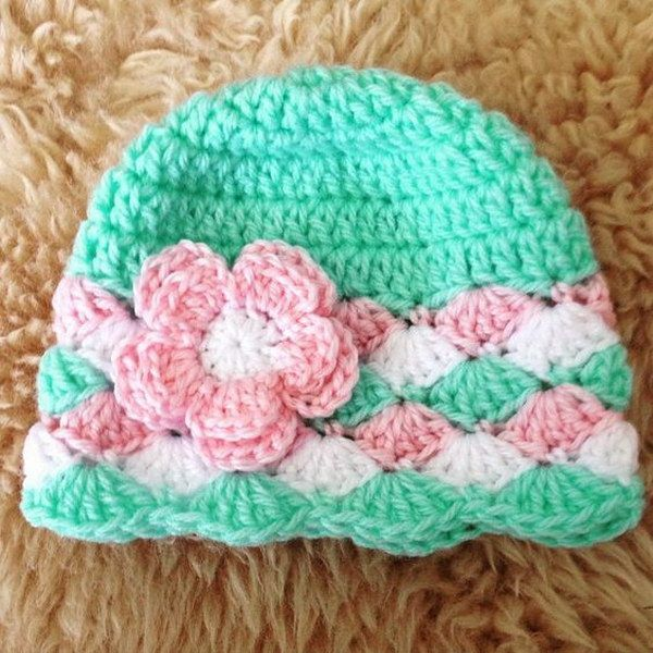 crochet baby hats 25 easy crochet hats with free tutorials WWQYUIE